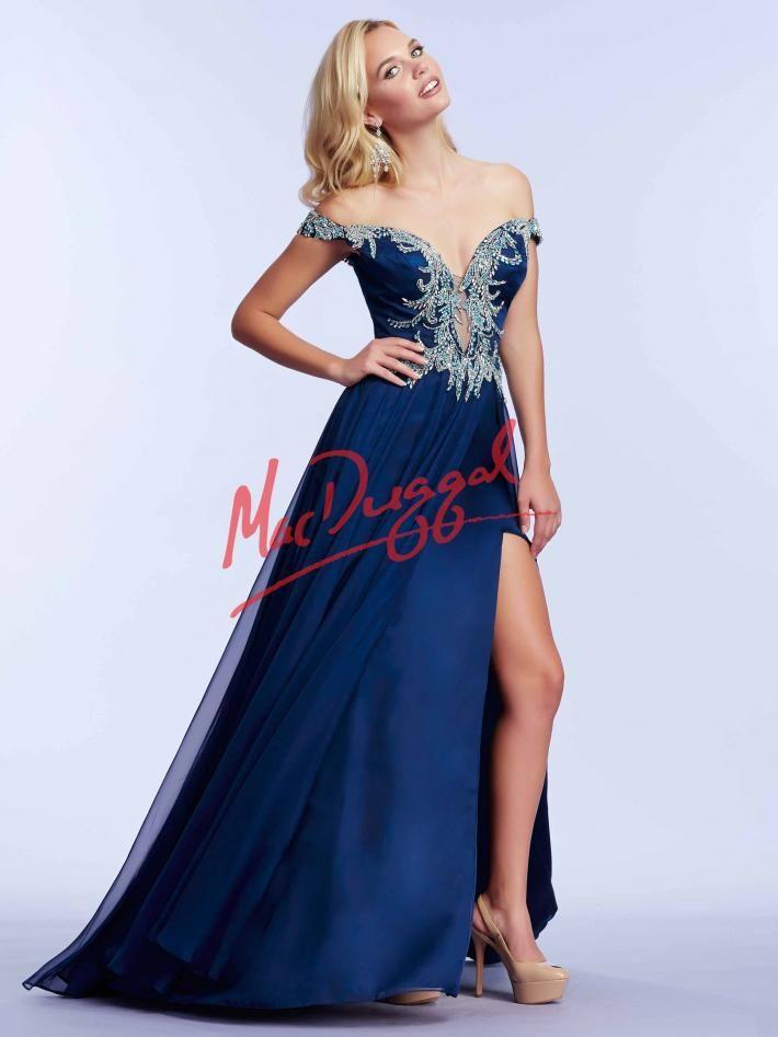 d39cda47c70 Midnight Blue Prom Dress