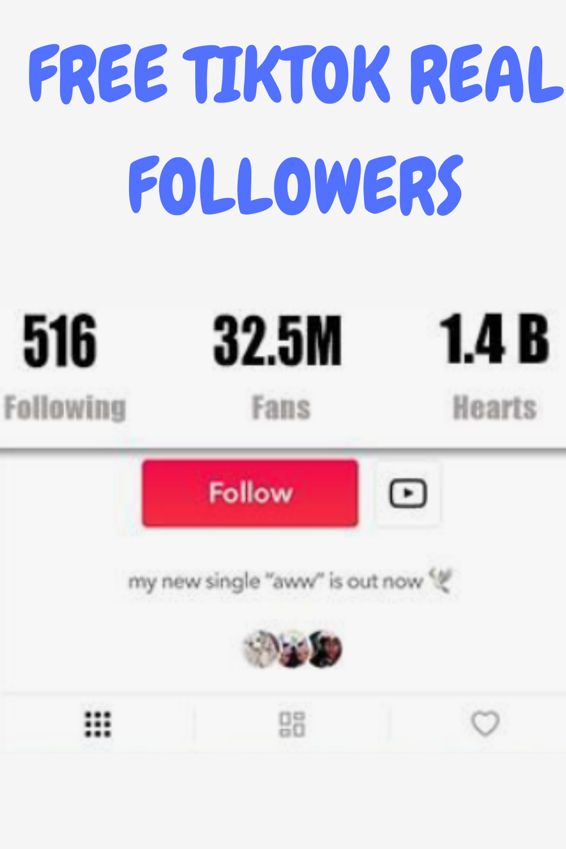 Tiktok Free Followers And Likes Generator 2021 In 2021 Free Followers On Instagram Free Followers How To Get Followers