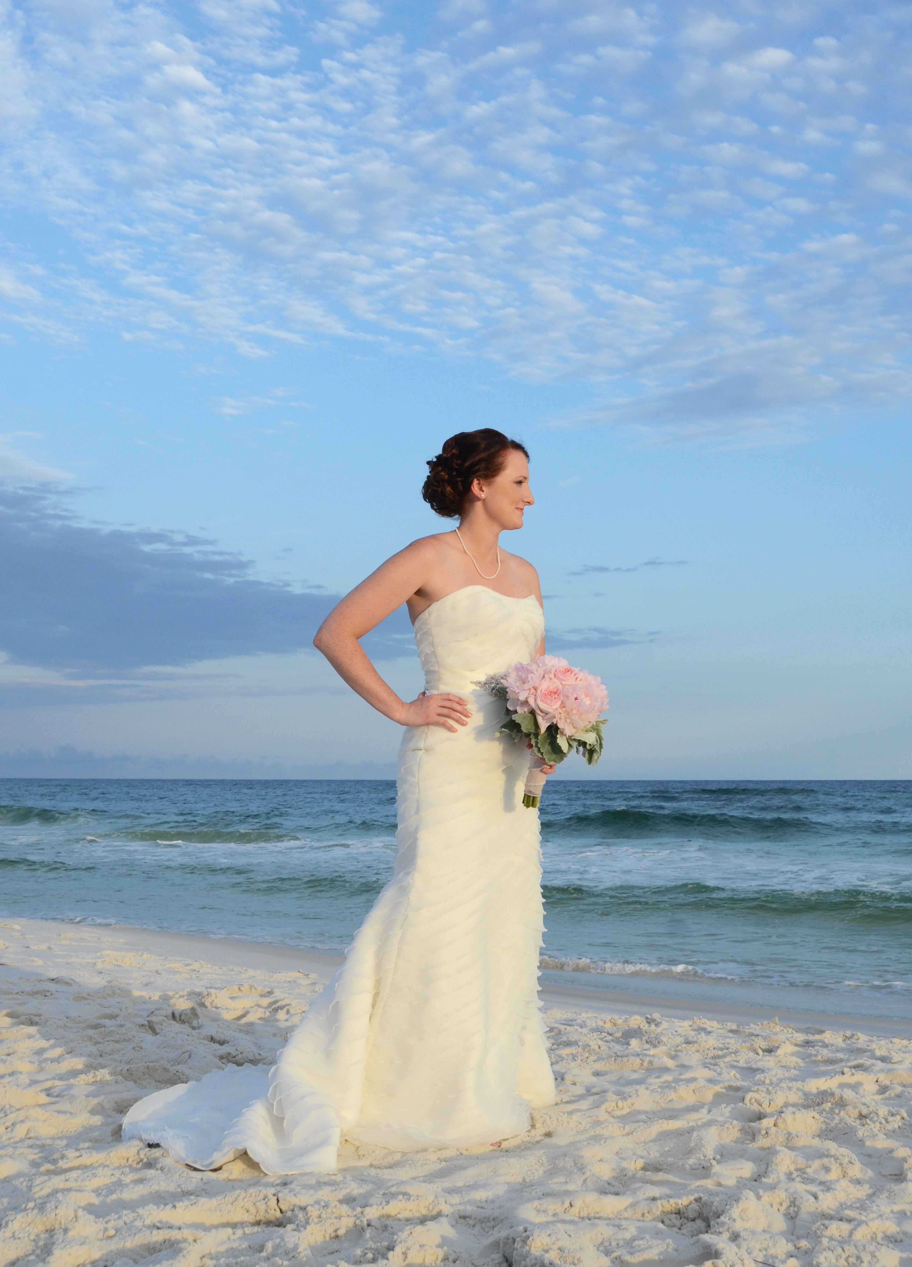 Beach weddings fort walton beach wedding packages sunset beach - Okaloosa Island Fort Walton Beach Florida Destination Beach Wedding
