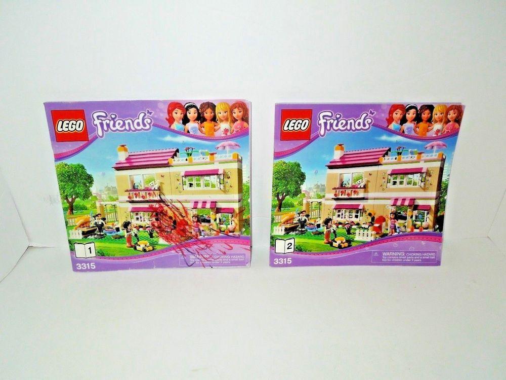 Lego Friends 3315 Instruction Manual Set