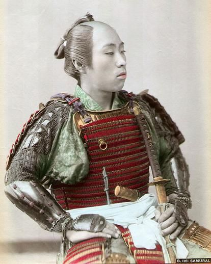 Vintage Photographs Of Japanese #Samurai warriors 7