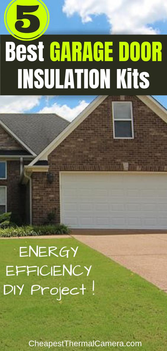 9 Garage Door Insulation DIY Ideas & Tips For Winter and