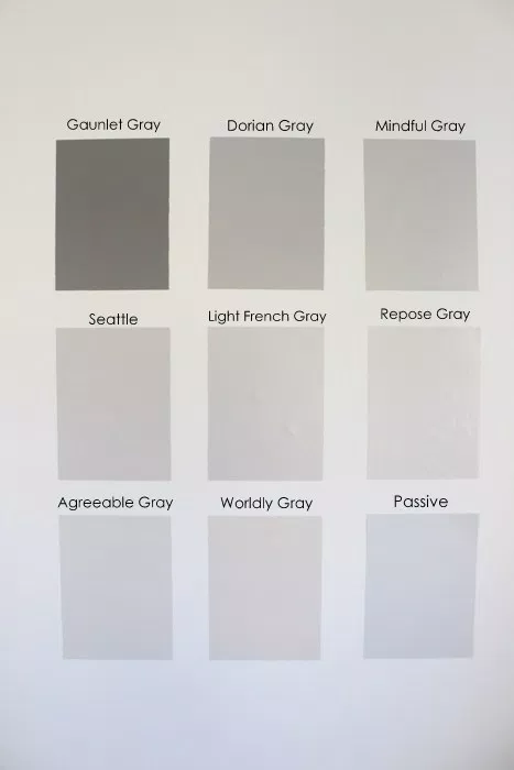 Nine Gray Paint Colors We Put to the Test for Your