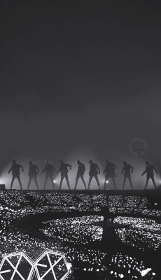 Exo Lockscreen Tumblr Exo Lockscreen Exo Background Exo
