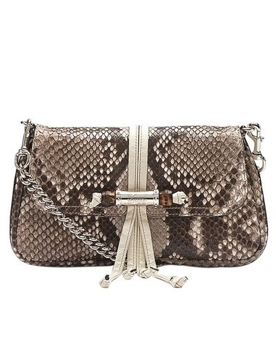7c8b4f0ffd1 Gucci python croisette evening bag - $259 | Gucci Clutches | Gucci ...