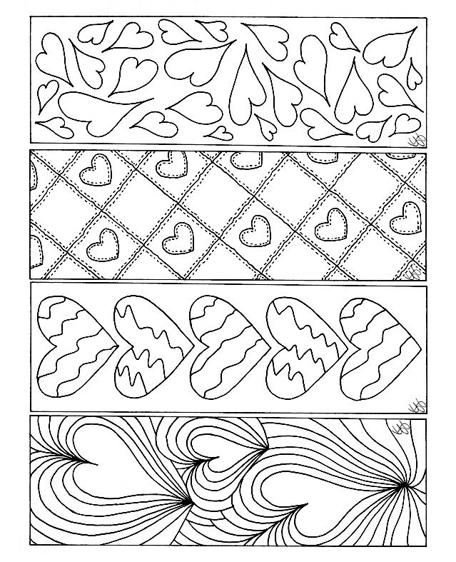 Pin By Ilayda Erginoz On Valentine S Day Valentines Bookmarks Coloring Bookmarks Valentine Coloring Pages