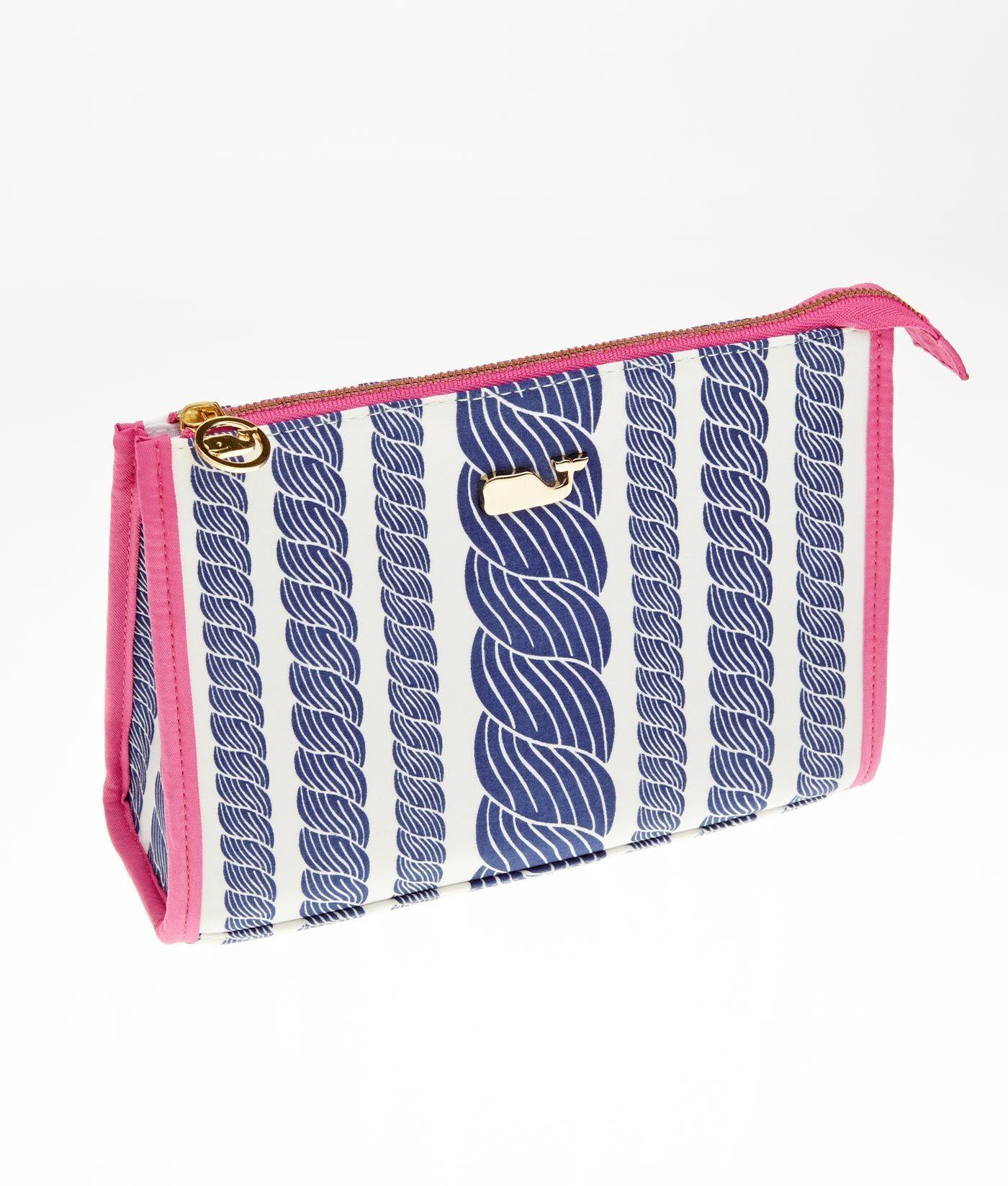 Women S Accessories Rope Stripe Makeup Bag Vineyard Vines