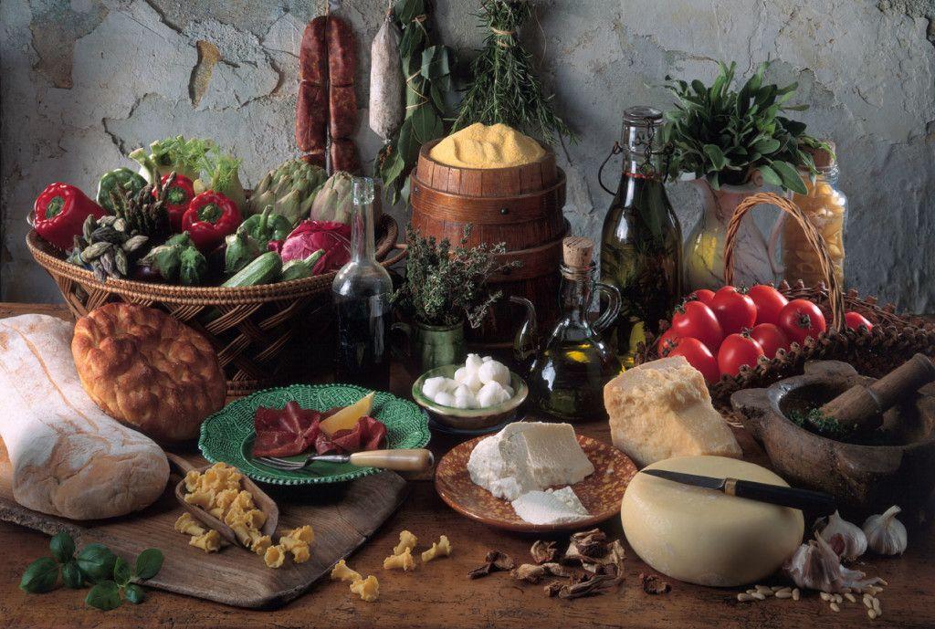 Steinalt werden mit mediterraner Ernährung