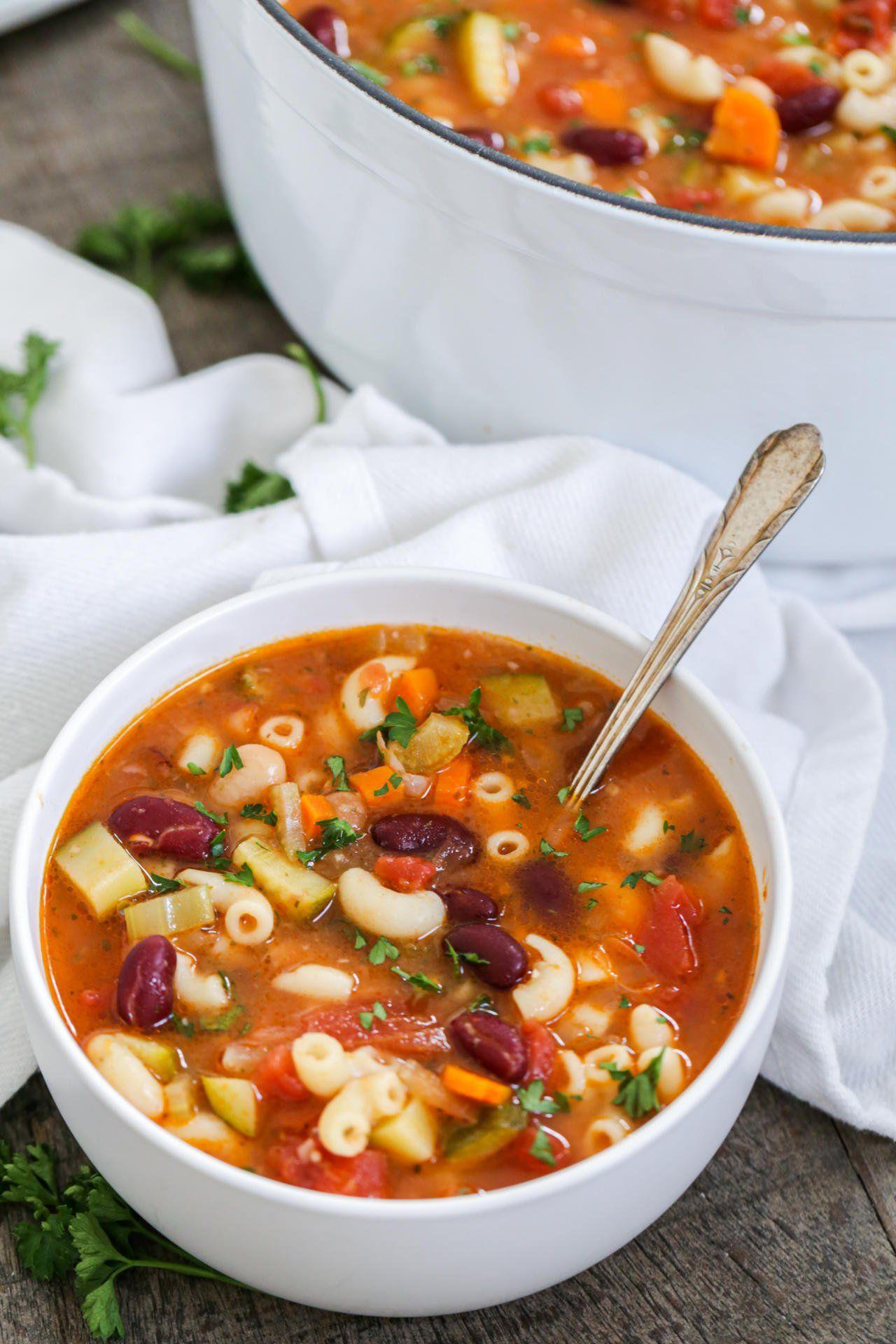 Minestrone Soup (Olive Garden Copycat) Momsdish Olive