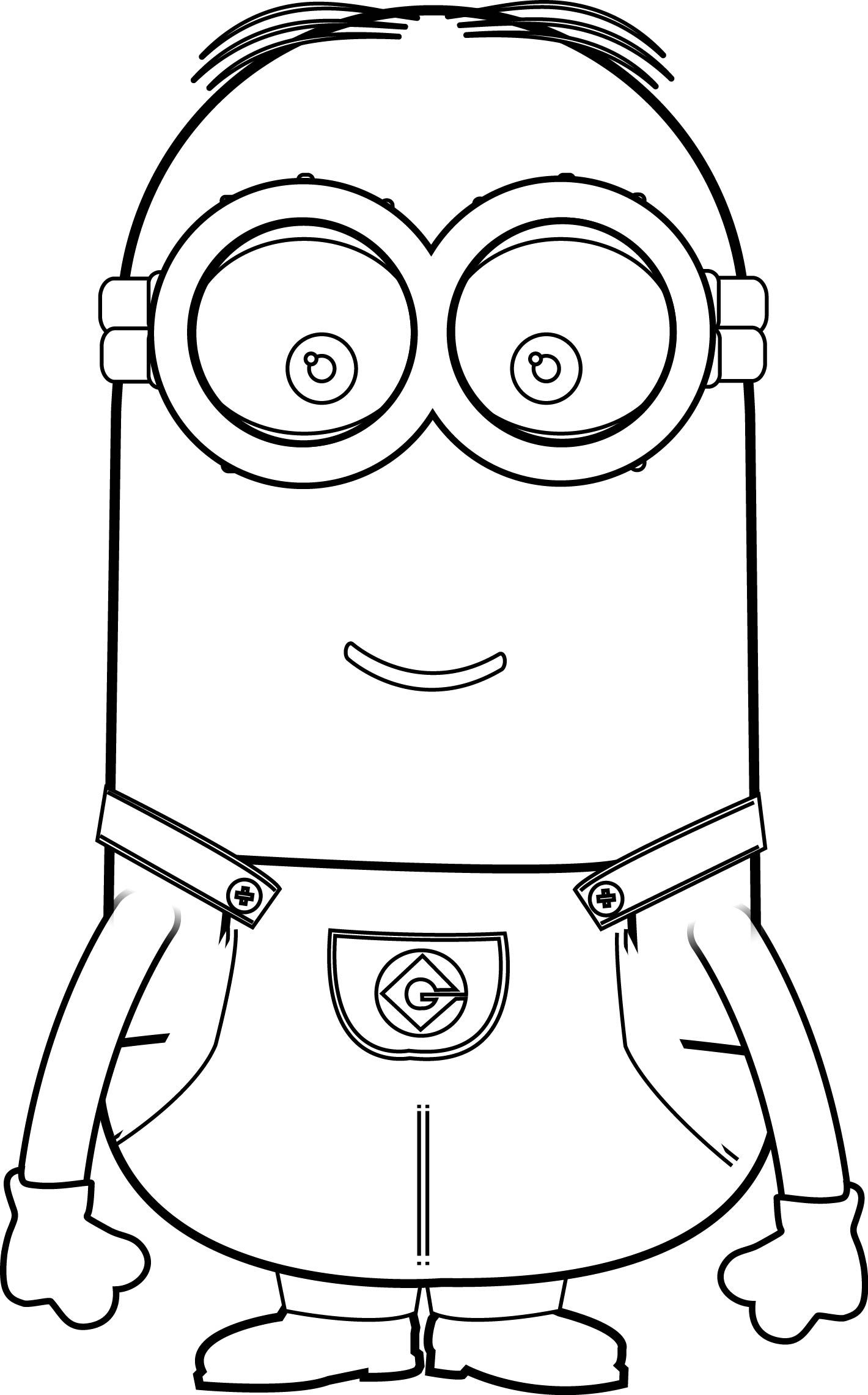 Minions Kevin Perfect Coloring Page Minion Coloring Pages Minions Coloring Pages Minion Painting