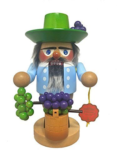 Steinbach Signed Wine Maker German Christmas Nutcracker Handcrafted In Germany This Is An Amazon Affiliate Nutcracker Christmas Wine Signs German Christmas
