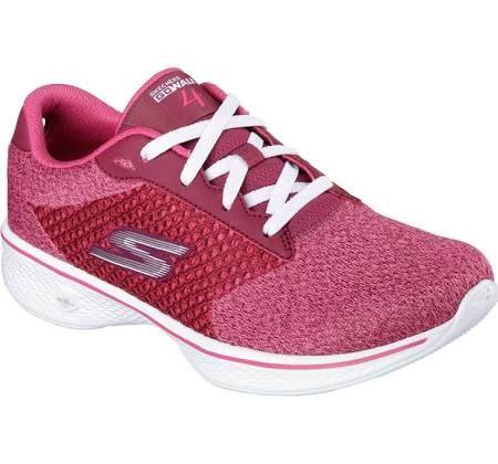 Skechers 14146 Ras Women S Gowalk 4 Exceed Walking Raspberry