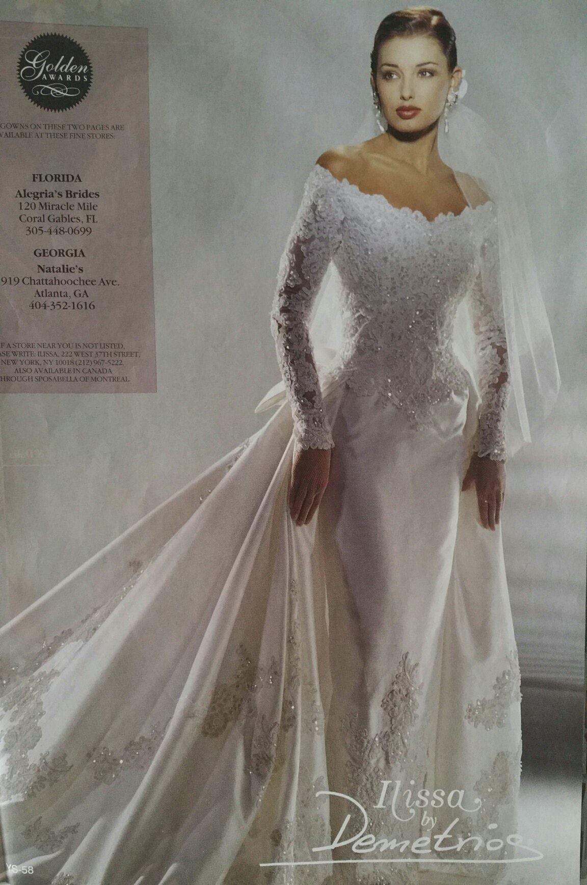 Demetrios 1995 in Brides Magazine | Demetrios 90\'s collections ...