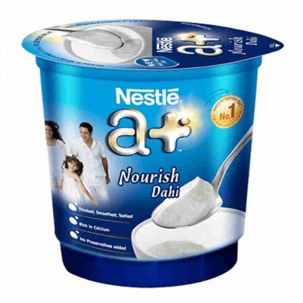Nestle A Yogurt Packaging Packaged Food