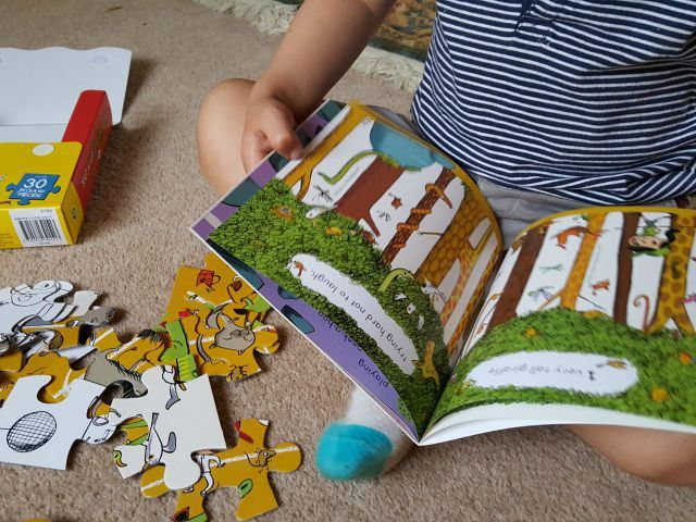 spot a lot animals book & jigsaw review - Bubbablue and me