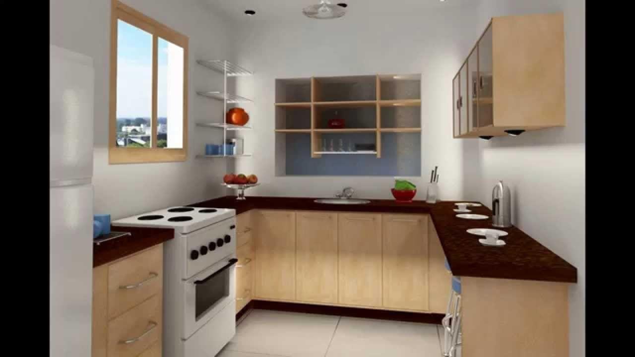 Desain Dapur Leter U Sederhana In 2020 Minimalist Small Kitchens