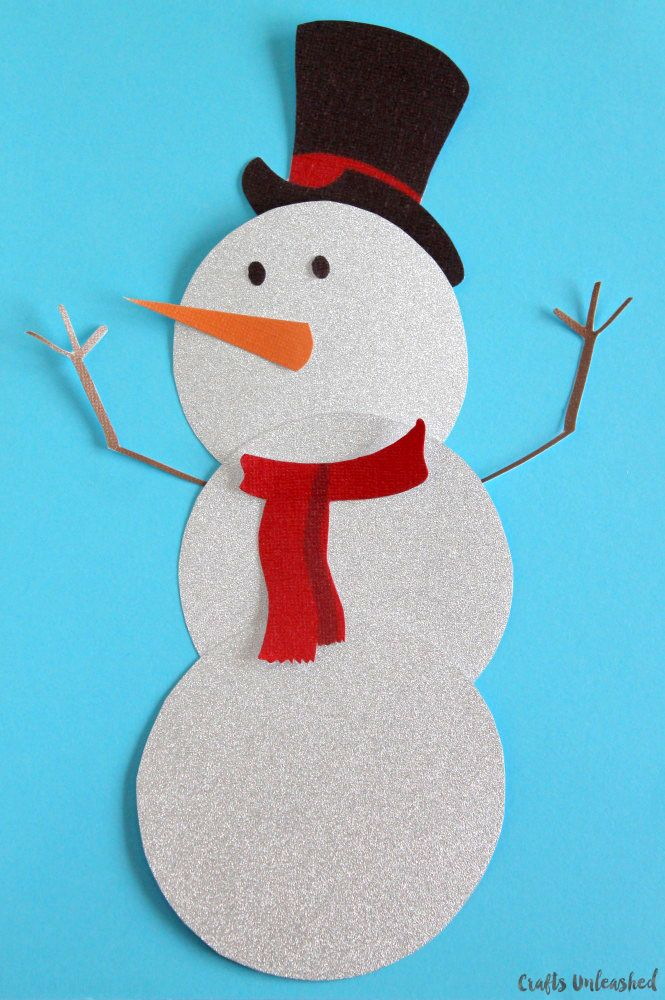 Snowman template free printable crafts unleashed snowman printable crafts and free printable for Snowman templates free