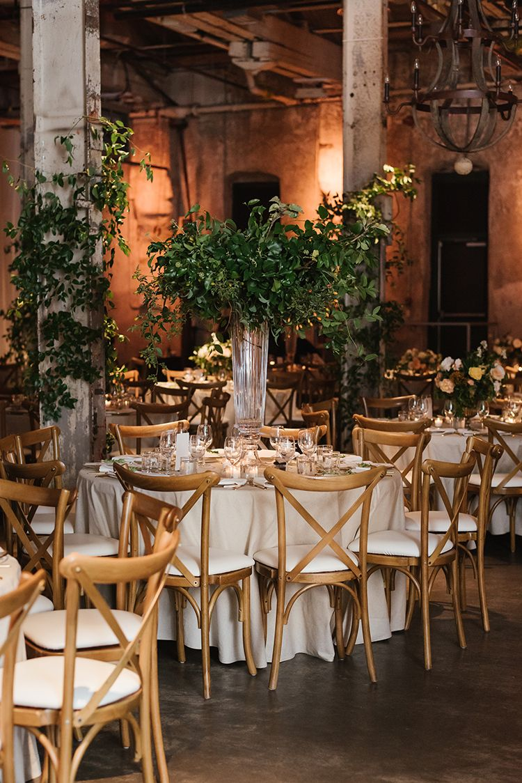 Industrial Wedding in Toronto with an Enchanted Forest ...