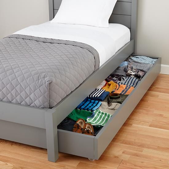 Uptown Grey Trundle Bed Crate And Barrel Trundle Bed Murphy