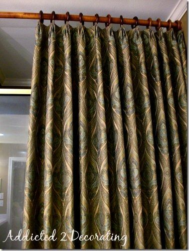 master to pinch easy promised in window made pleat saw curtains details last layered the post there treatments on you make pleated i dropcloth bedroom drapes more pin how