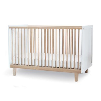 Oeuf Rhea Cot in Birch and WhiteCots and Change tables