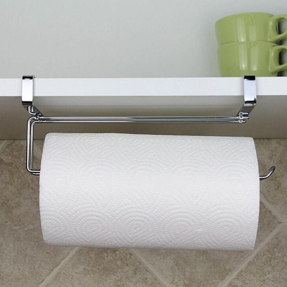 Stainless Steel Kitchen Closet Tissue Hanging Hook Holder Bathroom Roll Paper Ho Bathroom Paper Towel Holder Toilet Paper Storage Bathroom Toilet Paper Holders