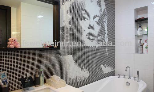Decorative Wall Tiles For Bathroom Marilyn Monroe Design Bathroom  Bathroom Decorative Wall Tile