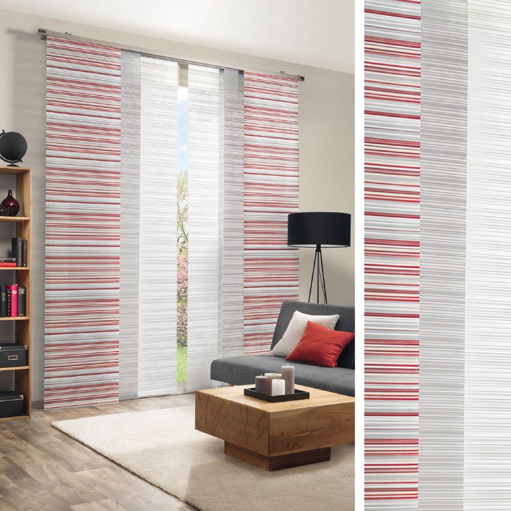 Flachenvorhang Fur Ihr Wohnzimmer Vorhange Gardinen Vorhange Gardinen