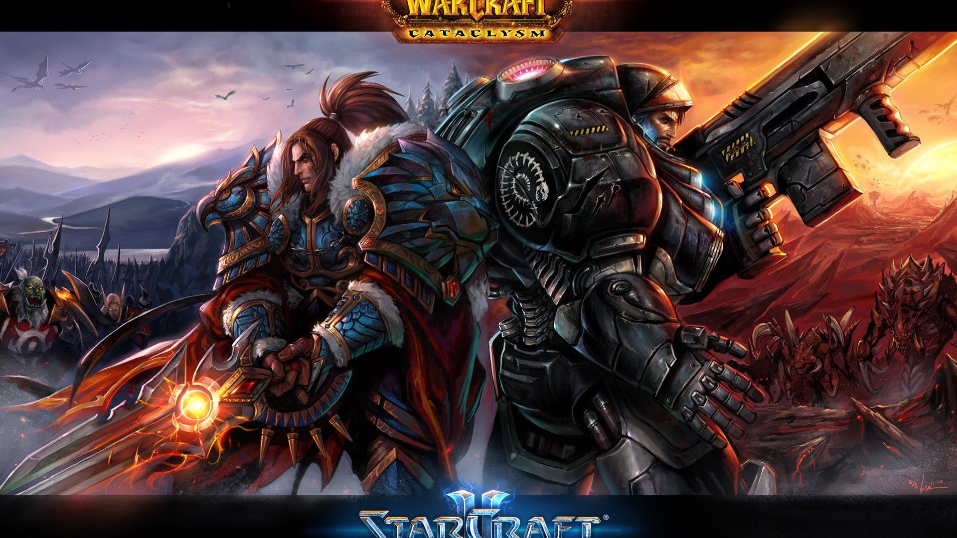 World of WarCraft WoW Orc Warrior Games Fantasy wallpaper