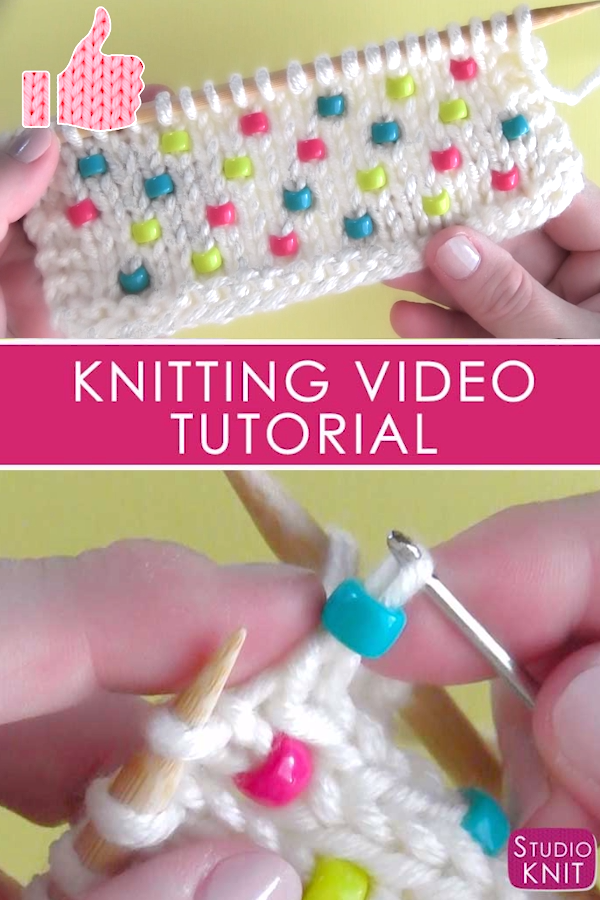 Photo of How to Knit Beads Into Any Project with Video Tutorial