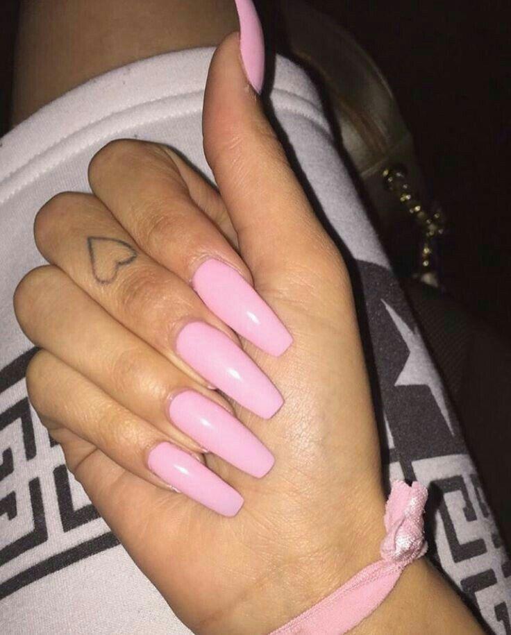 Pinterest @nattat74   Pink nails, Pretty nails, Nails