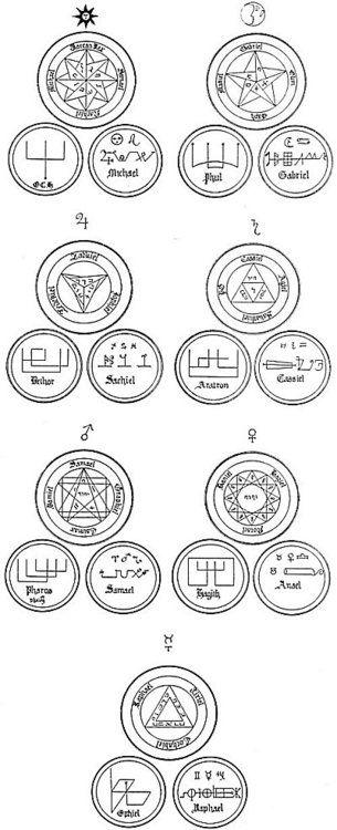 seven seals amuletscharmstalismans and symbols