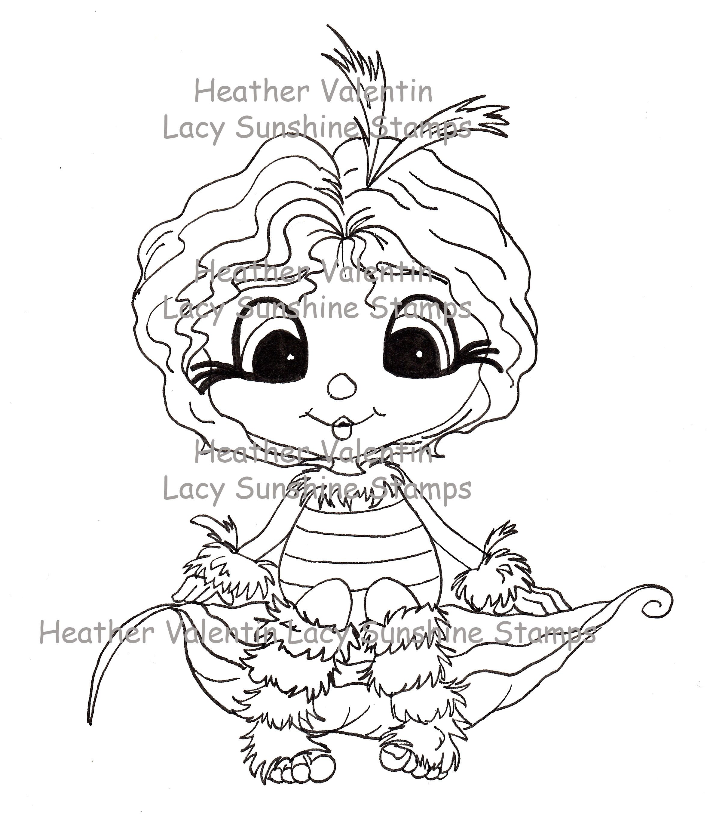 Tussa Buggmee by Heather Valentin/Lacy Sunshine Stamps ©All rights ...