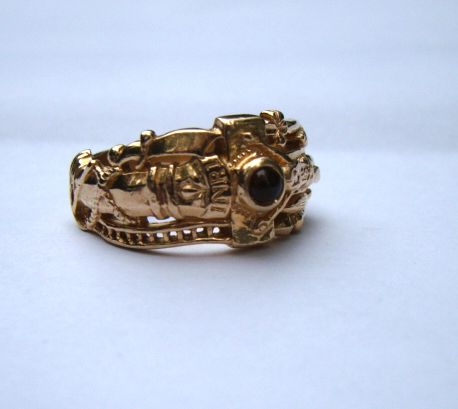 Mens James Avery Wedding 14K Gold 143 Grams Martin Luther Band