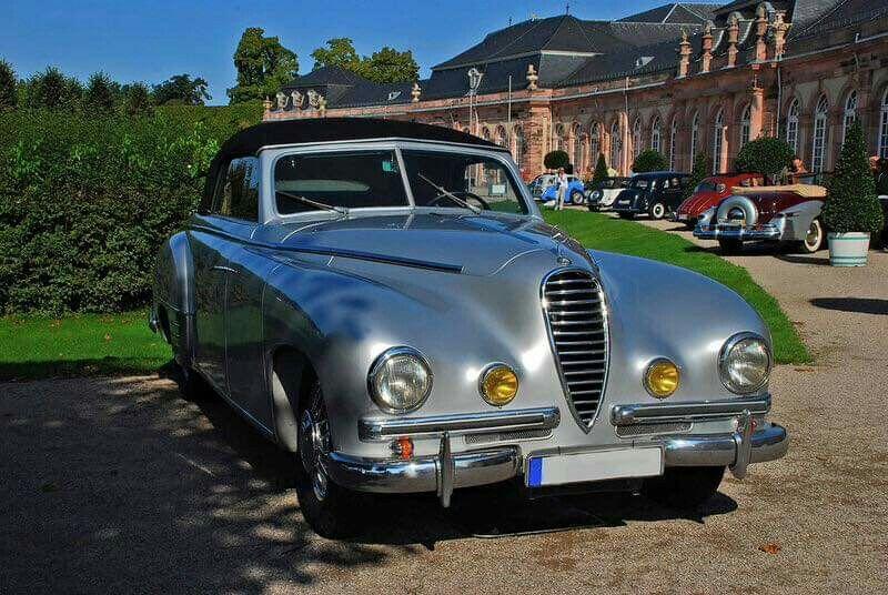 1950 MercedesBenz 320 Ponton Sport Cabriolet D by Wendler