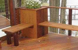 Irc Section R312 Requires A Guardrail For Porches Balconies Or Other Raised Floor Areas Where The Floor Surface Is More Building A Deck Deck Seating Diy Deck