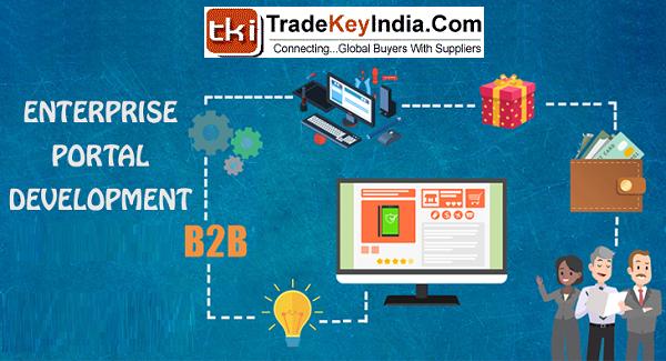 TradeKeyIndia Enterprise Portal Development Services
