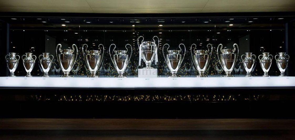 13 Copas De Europa Copa De Europa Futbol Europeo Estadio Del Real Madrid