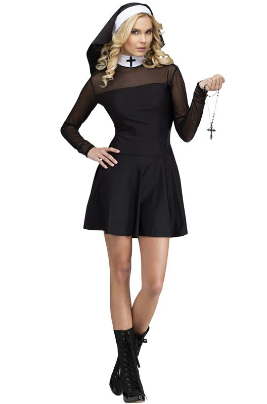 c0e7a422ca9 Sexy Sister Adult Costume   poster   Nun costume, Sexy halloween ...