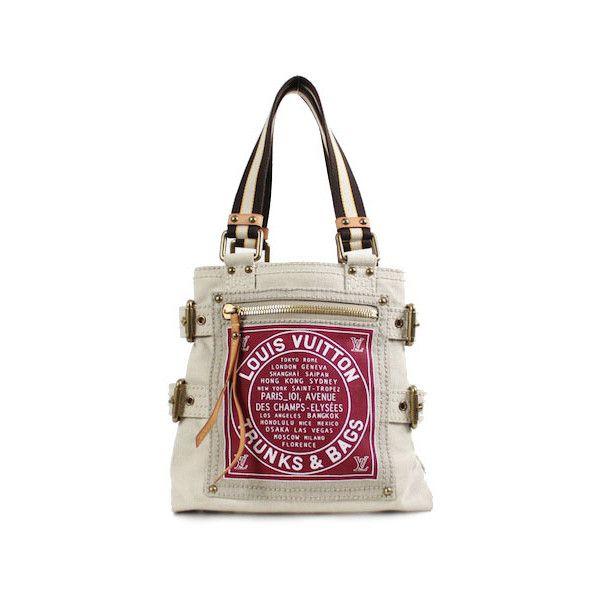 Authentic Louis Vuitton Canvas Globe Trotter Tote Bag