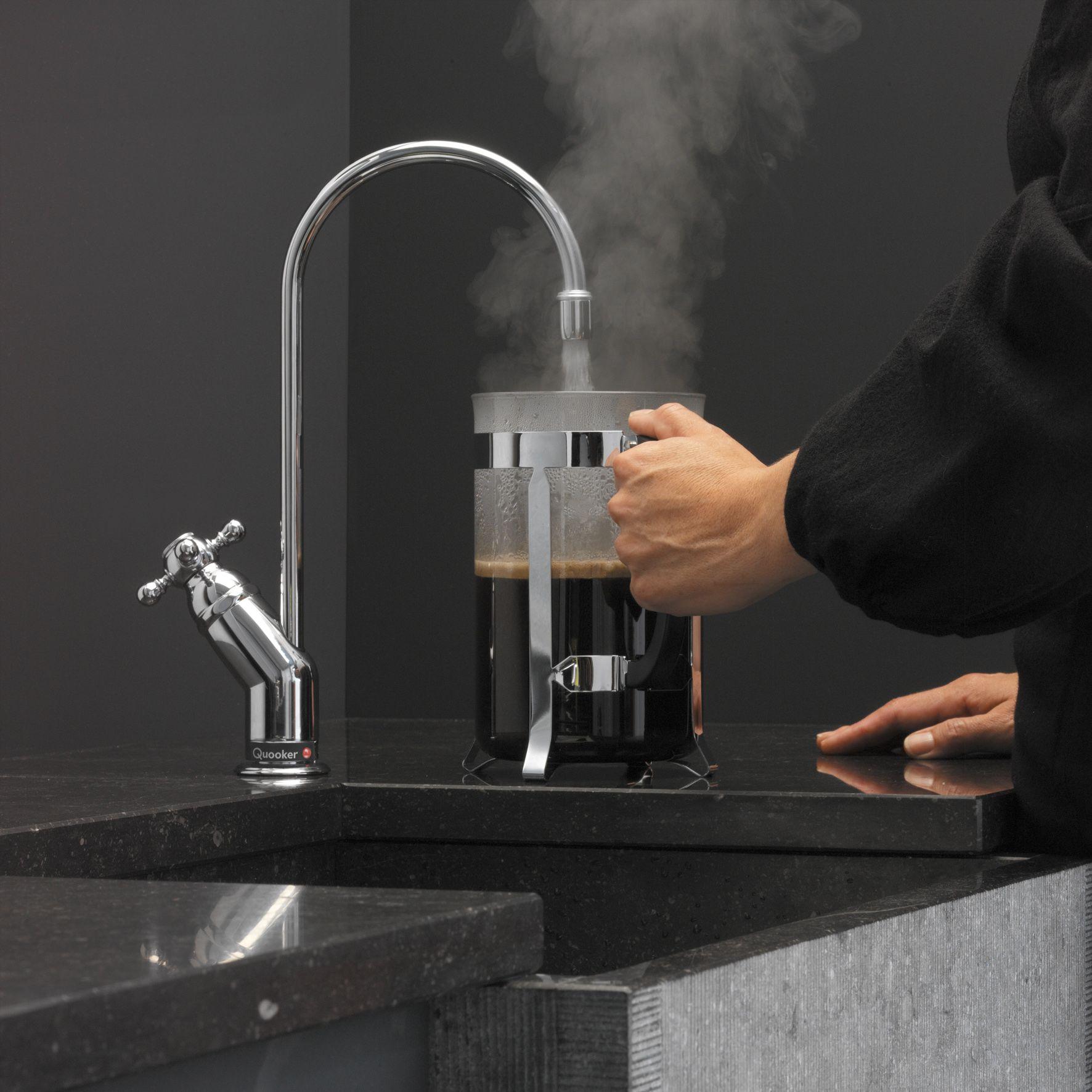 Kochend Wasserhahn Quooker Der Kochend Wasser Hahn Erleichtert Den