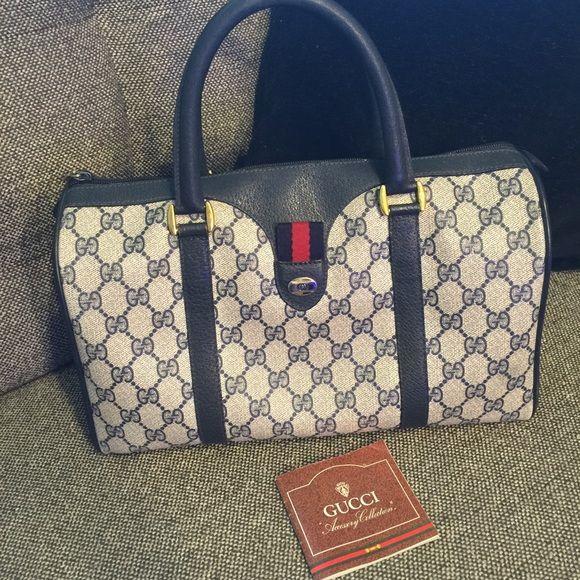 673a96c51ff GUCCI Boston vintage bag authentic Gucci Boston vintage bag
