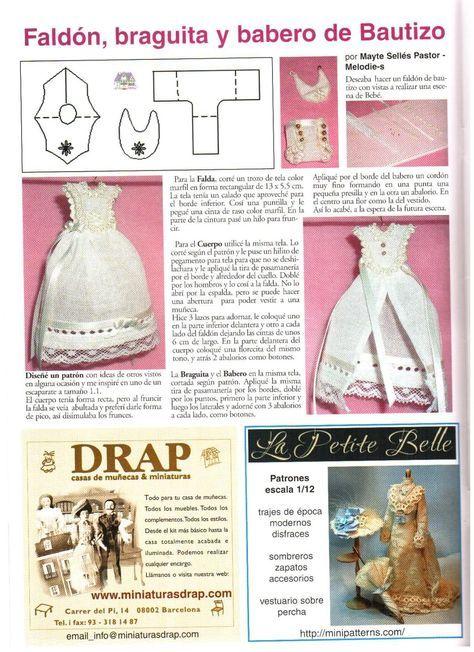 Click for a larger view | MINIS | Pinterest | Vestir muñecas ...