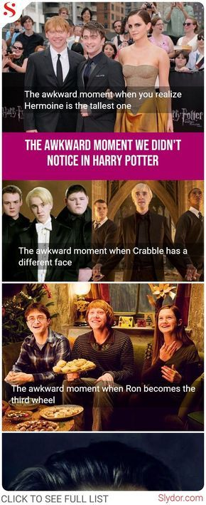 The Awkward Moment We Didn T Notice In Harry Potter Series