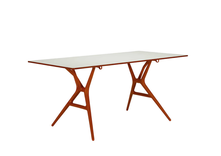 Spoon Table Metal Dining Table Modern Dining Table Furniture
