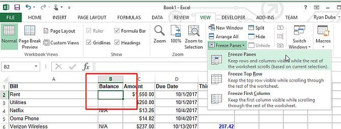 Make a Personal Budget on Excel in 4 Easy Steps Projects to try