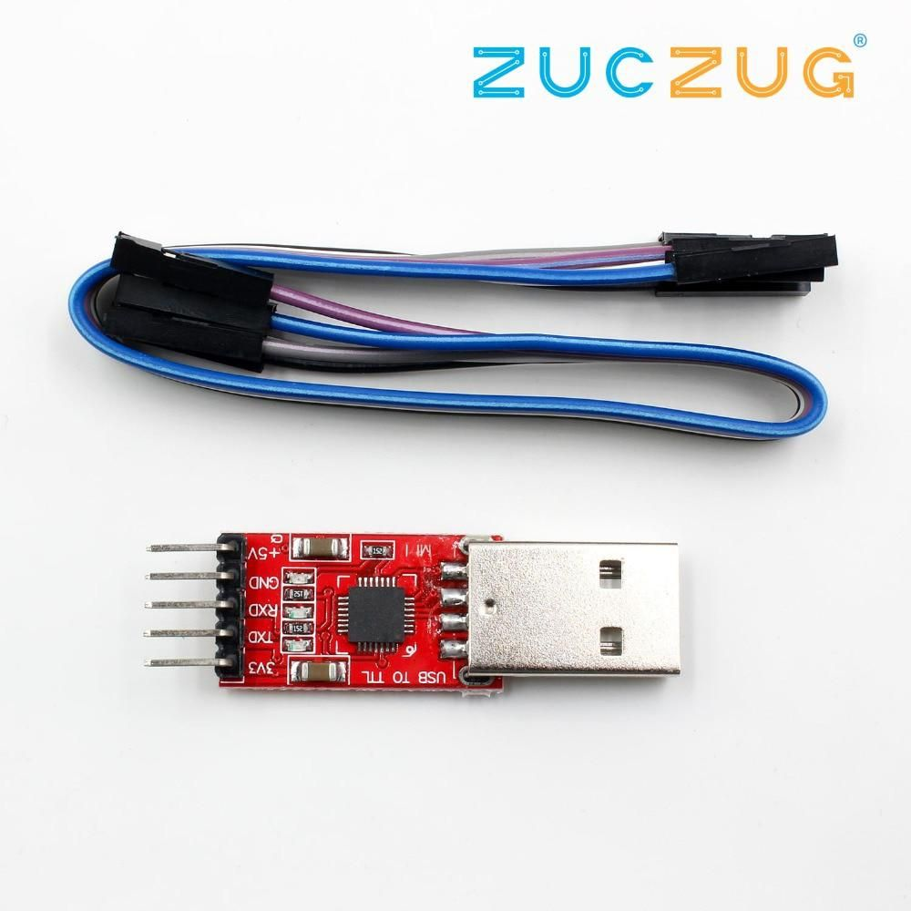 1pcs CP2102 module USB to TTL serial UART STC download cable PL2303
