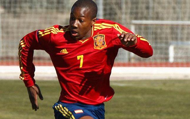 Adama Traore Seleccion Espanola De Futbol Futbol Lituania
