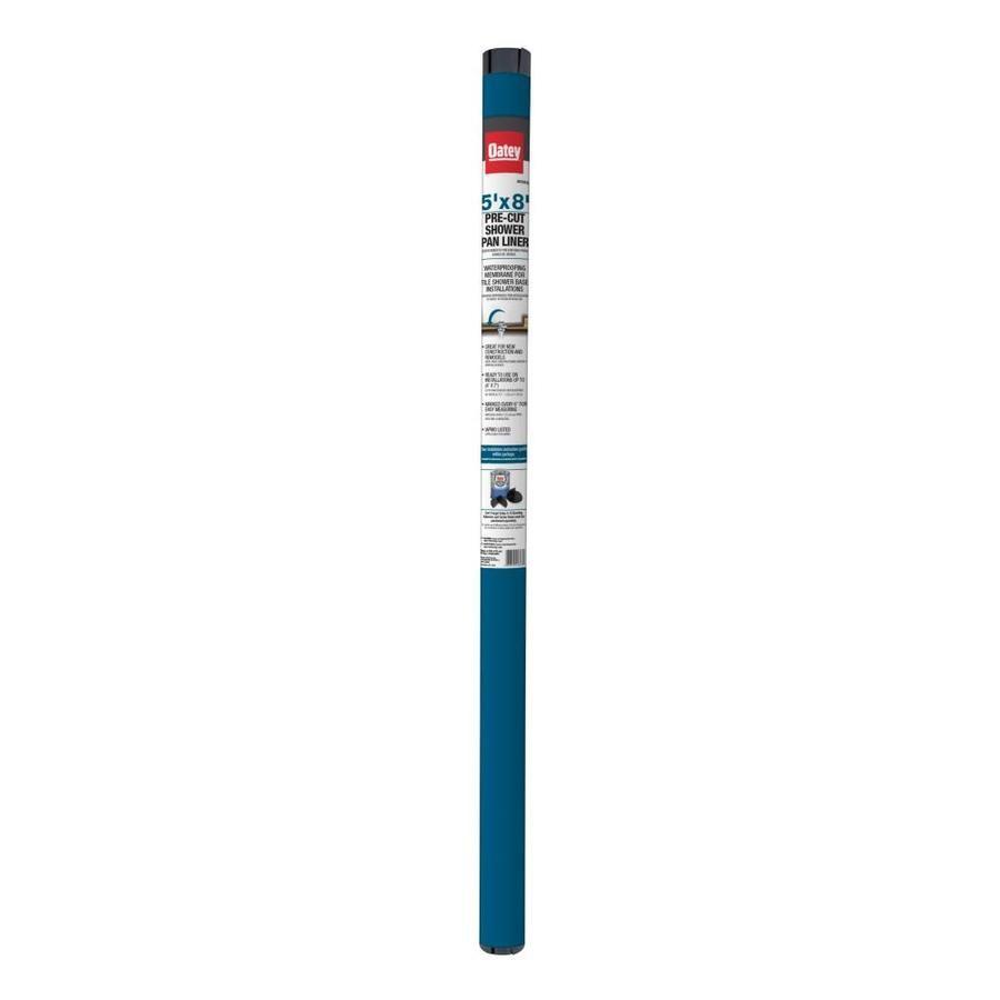 Oatey Gray Pvc Shower Pan Liner Roll 41643l In 2020 Shower Pan
