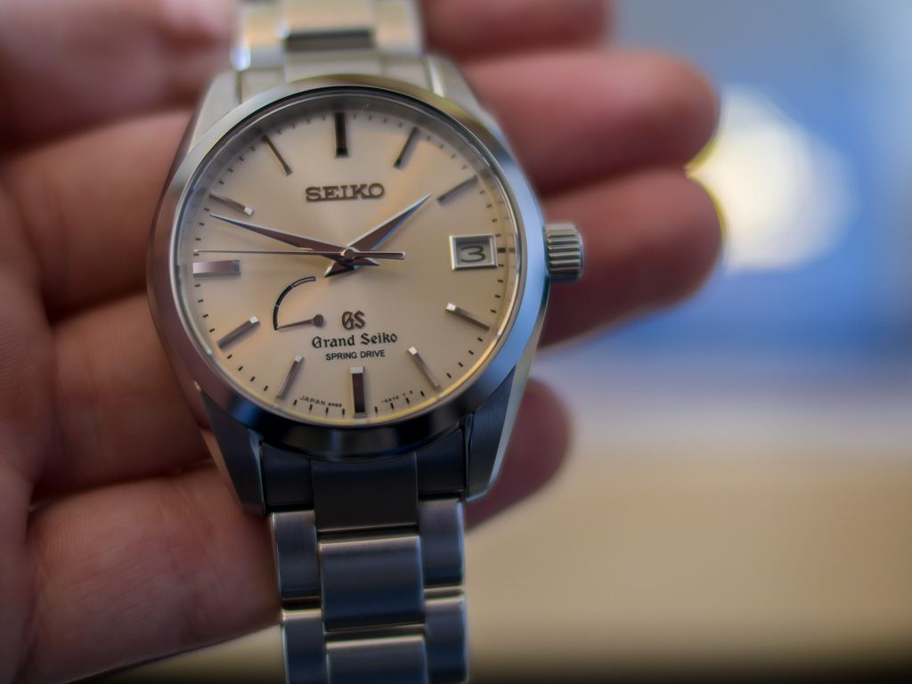 Grand Seiko Sbga083 Jam Tangan Pinterest Dan Watches 5 Sports Mens Srp687k1 Pria Srp687 Silver Stainless Automatic